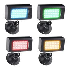 Mini 45LED Strobe Stage Light USB Sound Activated Disco KTV Party Projector