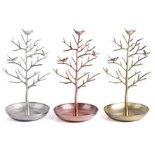 New Bird Tree Earrings Necklace Ring Pendant Bracelet Jewelry Display Stand Tray Storage Racks Organizer Holder H39