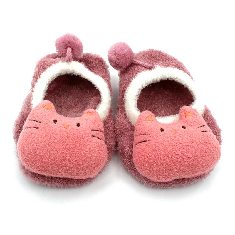 Spring And Autumn Baby Socks Three-Dimensional Cartoon Animals Doll Children's Non-Slip Floor Socks Baby Socks Foddler Shoes