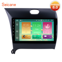 Seicane Android 8.0/8.1 9 Inch Car GPS Radio Multimedia Player For 2013 2014 2015 2016 Kia k3 Head Unit With Bluetooth 4G Wifi