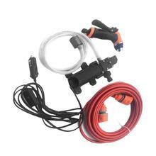 Pulitore Ad alta Pressione di Cura di 12 V Portatile Auto Lavatrice Elettrica Lavatrice Auto Lavaggio Auto Strumento di Manutenzione Accessori