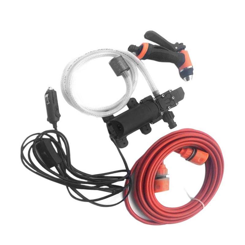 Nettoyeur haute pression soin 12 V Portable voiture laveuse électrique lave-linge Auto lavage de voiture outil d'entretien accessoires