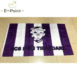 Flag of Romania ACS Poli Timisoara 3ft*5ft (90*150cm) Size Christmas Decorations for Home Flag Banner Gifts(China)