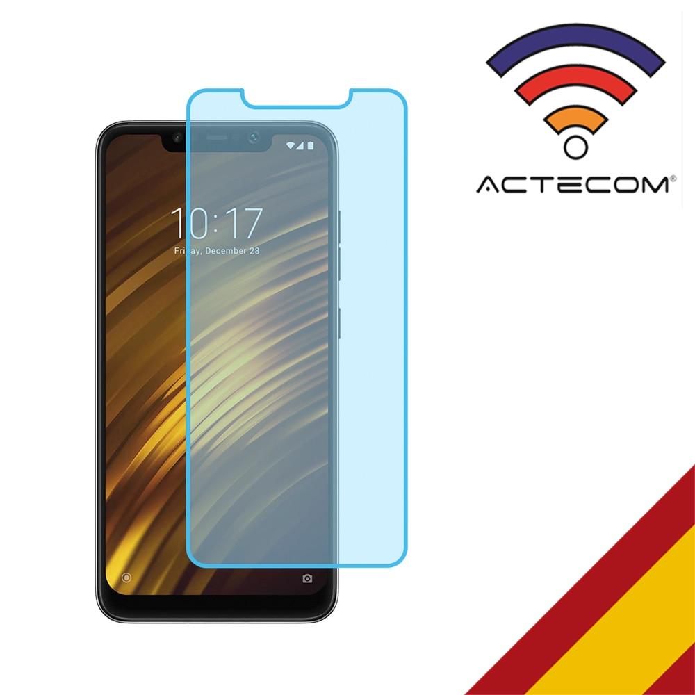 ACTECOM Cristal Templado Protector Pantalla 0.2MM Para POCOPHONE F1 XIAOMI