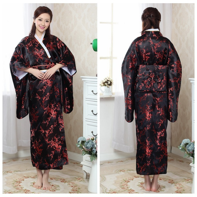 Japon Kimono Cosplay robe traditionnelle japonaise vêtements Yukata femmes dédouanement livraison gratuite
