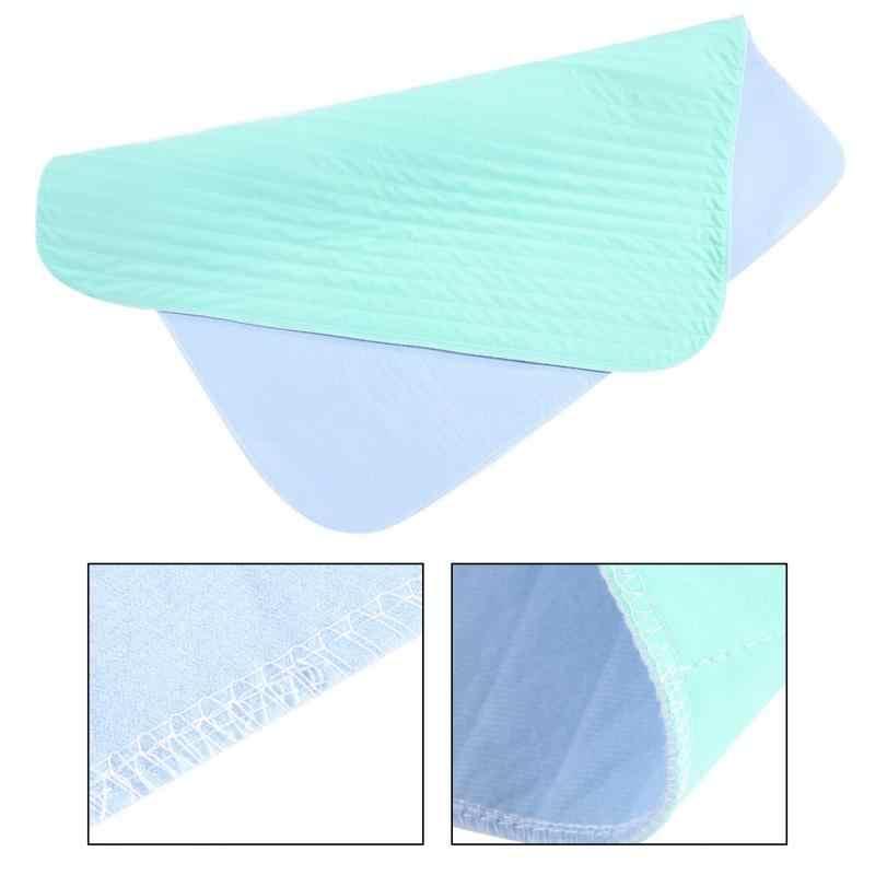 再利用可能なアンダー洗える防水子供アダルト Incontinent パッド寝具おむつげっぷマットレス変化マット 80*51 センチ