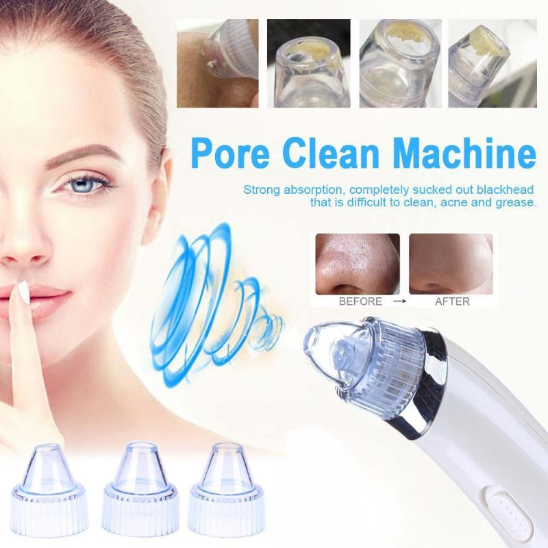 2019 Face Pore Cleaner Blackhead Remover Suction Black Spot Cleaner Vacuum Suction Pore Clean Machine Facial Skin Care2019 Face Pore Cleaner Blackhead Remover Suction Black Spot Cleaner Vacuum Suction Pore Clean Machine Facial Skin Care