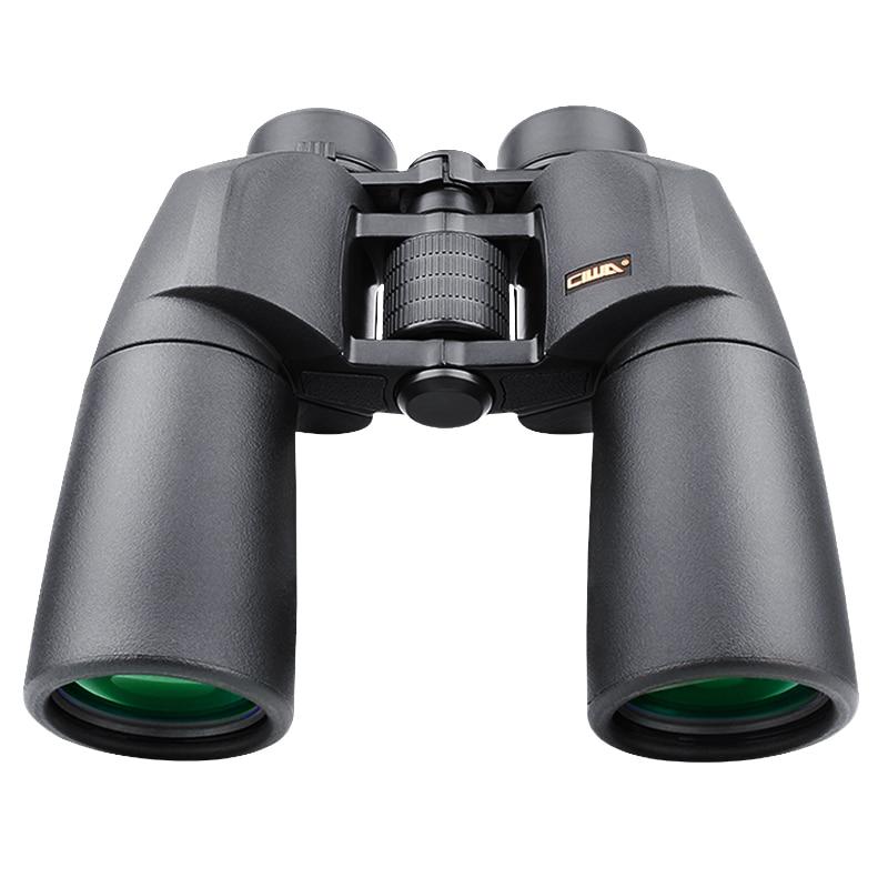 Binoculars  telescope 10X50 15X50 CIWA Waterproof Binoculars Non-night vision  Professional  Hunting Outdoor Sports Бинокль