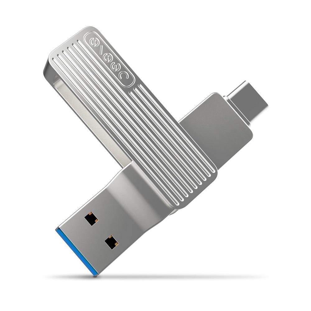 Xiao Mi 2-in-1 USB 3.1 32G 64G OTG USB Flash Drive 360 Degree Rotation Design Memory Disk- USB3.1Gen1+Type-C  Interface 32GB 64G