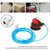 SY-8127 Pneumatic Water Sander 1/4 inch Polisher Air Water Sander Machine Inlet Grinding Machine Kit Car Polisher