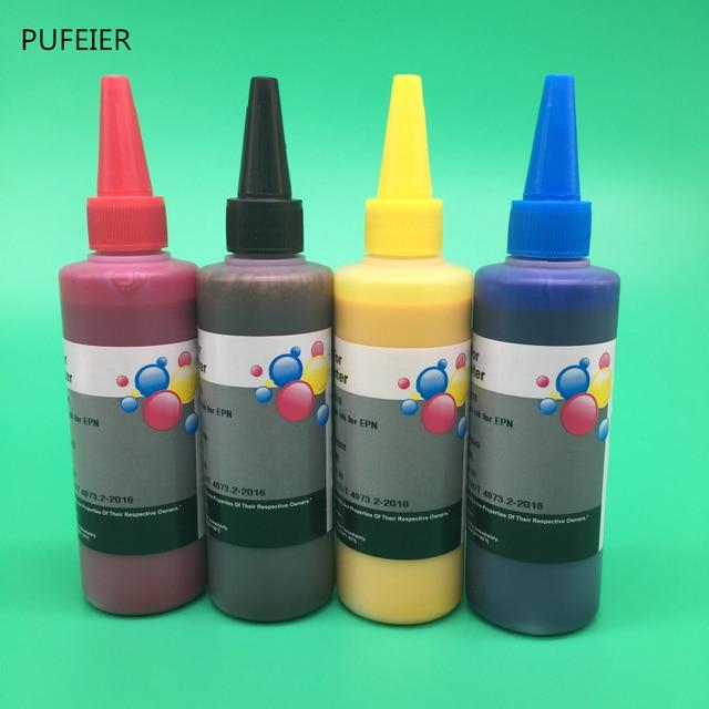 100 мл x 4 цветные универсальные чернила для Epson настольный струйный принтер BK C M Y высокого качества