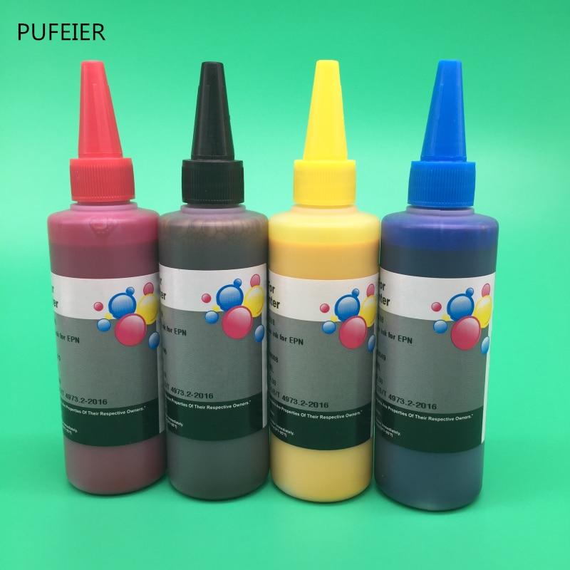 100ML x 4 Color Universal Pigment Ink For Epson Desktop Inkjet Printer BK C M Y High Quality100ML x 4 Color Universal Pigment Ink For Epson Desktop Inkjet Printer BK C M Y High Quality