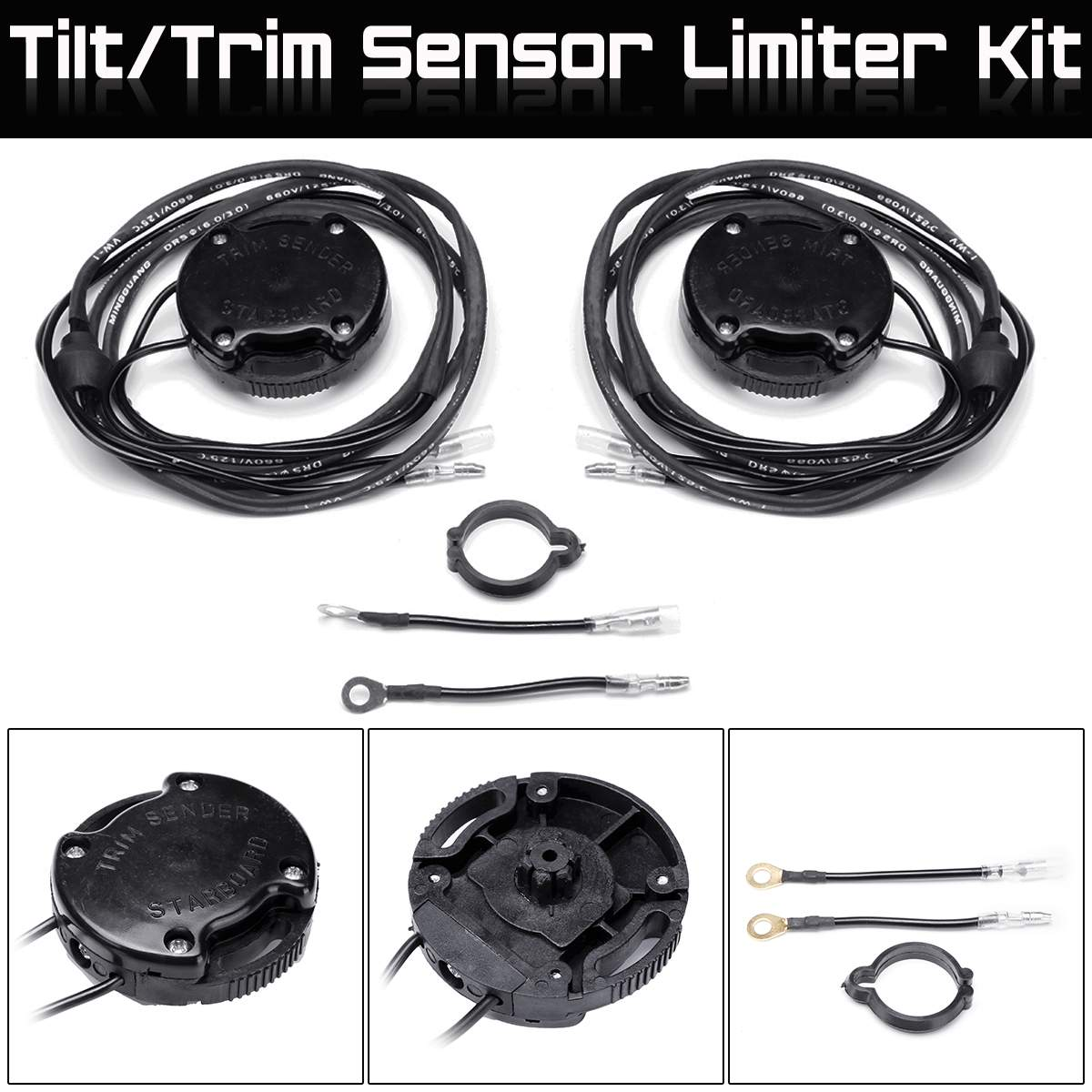 62 Mm Trim Tilt Limit Sender Switch For Mercruiser MC R MR 805320A03 805320A1Trim Sender Limit Kit For Alpha Bravo
