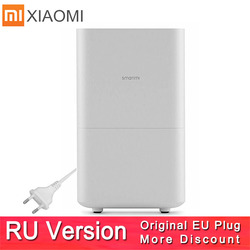 Xiaomi Smartmi Air Humidifier 2 No Smog No Mist Evaporate Type Xiaomi Zhimi Air Humidifier 2 Mijia App Original/ Russian Version