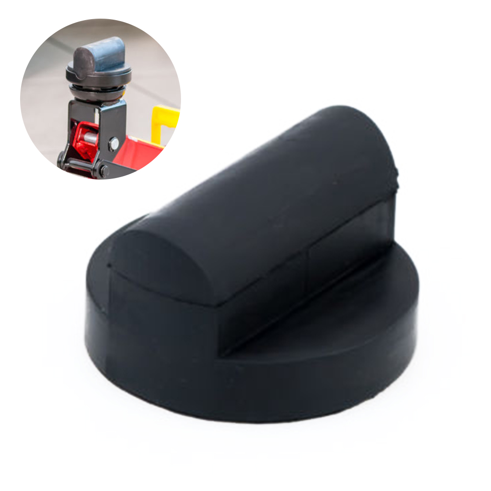Rubber Car Tool Durable Repair Support Jacking Pad Adapter Trolley Enhanced
