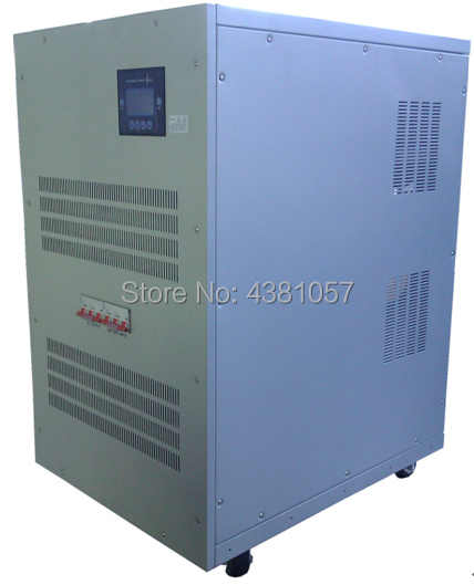 20KW Solar Grid Off Inverter 40KW Surge Output Power DC to AC380V Pure Sine  Wave Inverter 3 Phase 380VAC Output With AC Charger