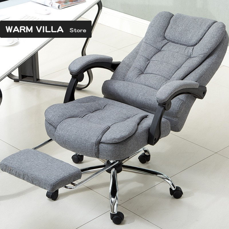 European Computer To Work In An Office Special Can Lie Boss Lift Genuine Massage Footrest Noon Break Chair You