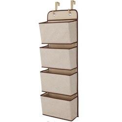 Siatki ponad drzwi Organizer do przechowywania szafka wisząca półka torba półki zabawki dla dzieci w Składane torby do przechowywania od Dom i ogród na