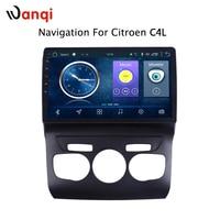 Автомобиль радио для Citroen C4L 2013 2017 Android 8,1 HD 10,1 дюймовый сенсорный экран головное устройство gps навигации мультимедийный плеер