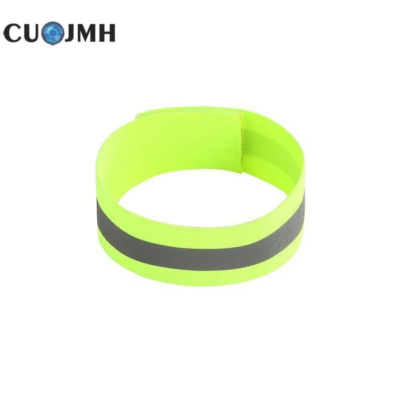 1 Pcs Reflective Film Wristband Elastic Band Reflective Fabric Warning Tape 4 Colors Night Running Reflective Reflective