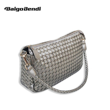 2019 New Summer Fashion Woven Bag Knitting Handle Shuolder Bag Ladies Casual Totes Grils Messenger Bag недорого