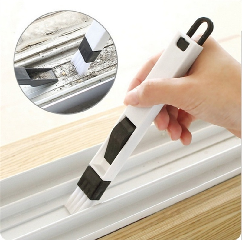 Cleaning Brush Window Groove Cleaning Brush With Detachable Dustpan Screen Window Cleaning Tools Home Supply Keyboard Crevice