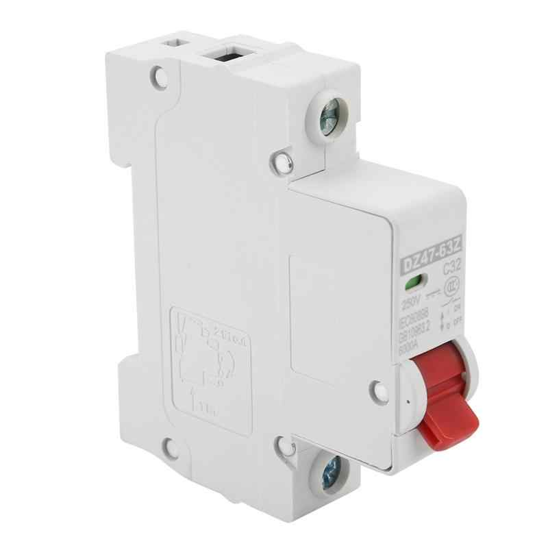 2019 DZ47-63Z-1P 32a dc diminuto interruptor de ar prote-ction do escapamento do disjuntor de alta qualidade