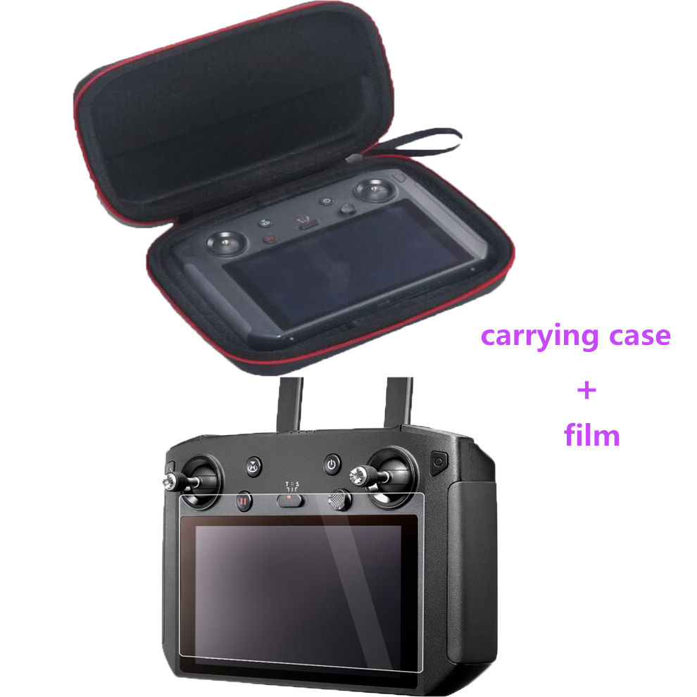 MAVIC 2 Smart Controller Bag Protective Storage Box Carrying Case Protective Screen Film For DJI Mavic 2 Smart Controller
