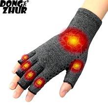1 пара магнитных анти артрит здоровья компрессионные терапевтические перчатки ревматоидные руки боль запястья поддержка спортивные защитные перчатки