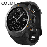 COLMI флагманский 4G Смарт часы ОС Android 7,1 MTK6739 1 ГБ + 16 ГБ 400*400 Дисплей 530 мАч IP67 водонепроницаемый gps Для мужчин Smartwatch