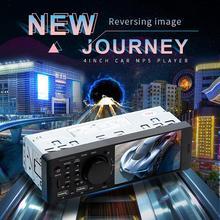 Auto lettore 4.1 Pollici Auto Radio Audio Stereo FM Radio Bluetooth MP5 Giocatore Può Essere Collegato Al Videocamera vista posteriore