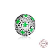 CKK Cosmic Stars Clip Stopper Bead 925 Sterling Silver Charms Fits Original Pandora Bracelets & Bangles Women DIY Jewelry
