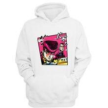 Jojo bizarre aventura hoodies camisolas dos homens mulheres harajuku  streetwear hip hop anime L5377 homme cee65853bad