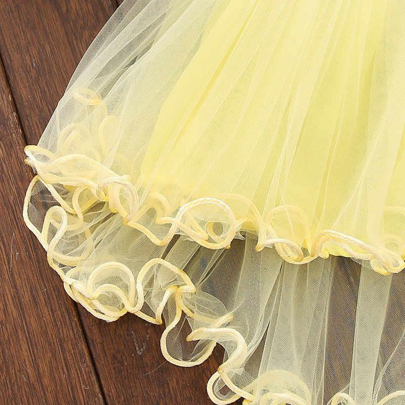 Платье для новорожденных девочек от 0 до 36 месяцев однотонное кружевное платье принцессы с цветочным рисунком Одежда для девочек платье-пачка для девочек, одежда для новорожденных