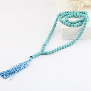 Image 4 - Pedra azul borla em forma redonda 99, oração, contas, rosário islâmico, tasbih, alá, baha, tesbaha, sibha, subha tespeeh