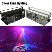 New arrival Remote control LED 4 in 1 Gobo laser strobe effect color 4 eyes image light Professional for Home entertainment KTV