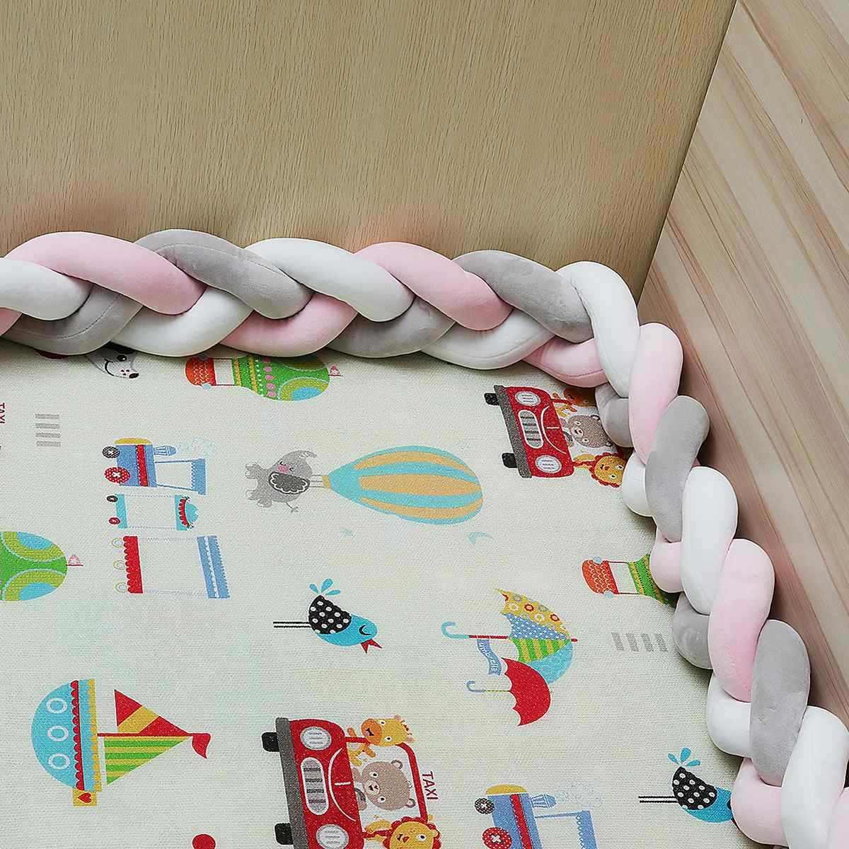 כותנה תינוק כרית פגושים Made טופס כריות לילדים עריסה הגנת מיטת תינוק מצעים כהה כוכבים יילוד מיטת מצעים 1 /2/3 M