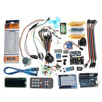 NEW For UNO R3 Super Starter Kit Module LCD1602 Breadboard Power Supply Board Buzzer For Arduino