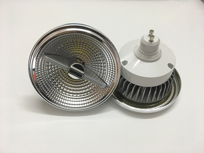 Dimmable LED AR111 Lamp 12w 15w GU10 Led AR111 Downlight ES111 LED Spotlight AC85-265V Free Shipping