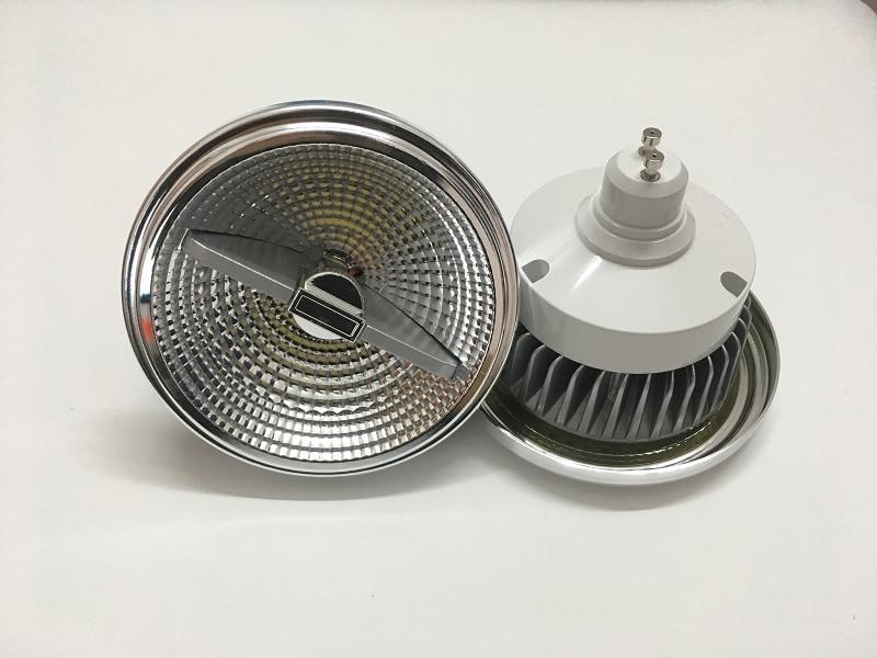 Dimmable LED AR111 Lamp 12w 15w GU10 Led AR111 Downlight ES111 LED Spotlight AC85-265V Free Shipping