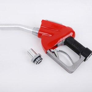 Image 5 - Cyfrowy miernik przepływu wskaźnik spalinowa benzynowa paliwa dysza pistoletu do tankowania oleju aluminiowa stacja benzynowa narzędzia do wtrysku paliwa