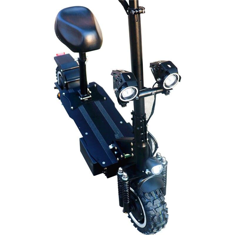 ZAP 2019 plus récent Scooter électrique 60 V/3200 W électrique coup de pied Scooter avec 11 pouces sur route/hors route grande grosse roue coup de pied vélo