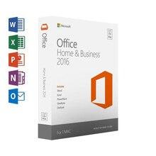 Microsoft Office для дома и бизнеса 2016, для Mac, Код лицензионного товара, розничная торговля в коробке