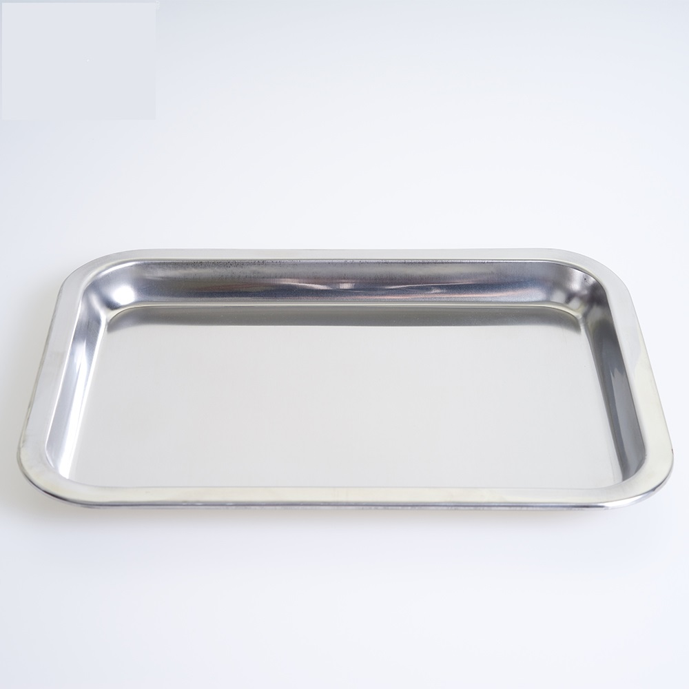 Baking Sheet Cookie Pan tray Stainless steel Steamed rice rolls baking mold pan household Steamed Rice Rolls disc