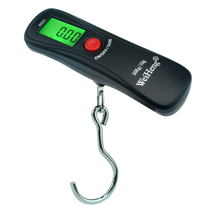 50kg*10g Electronic Portable Digital LCD Luggage Scale Travel Suitcase Weight