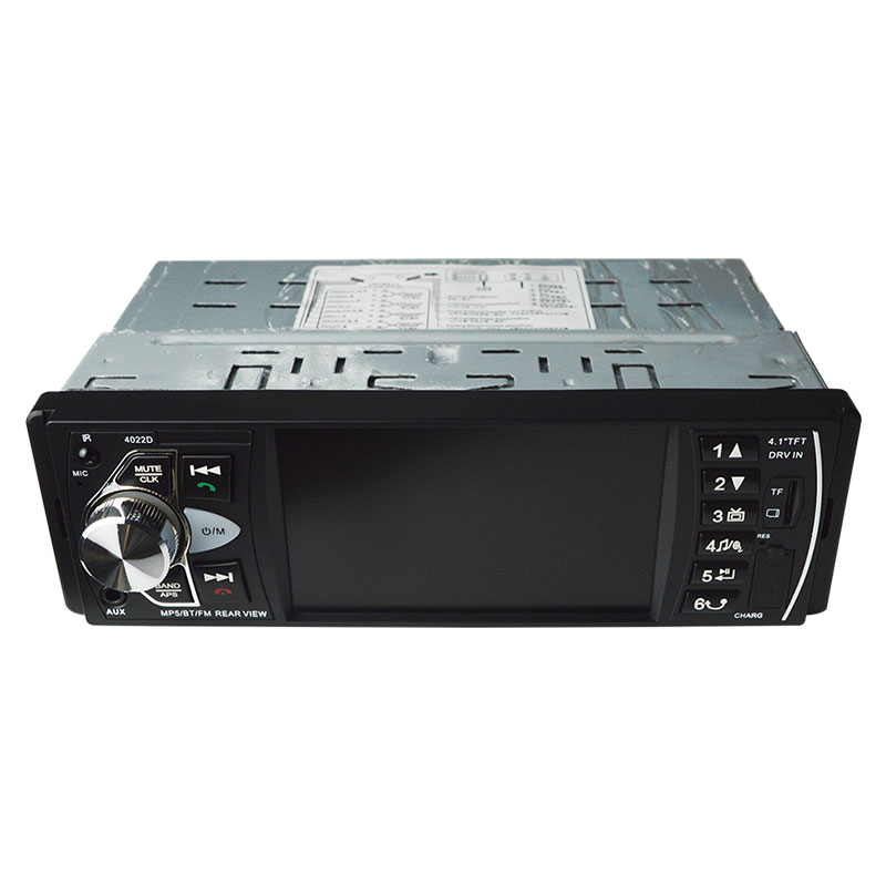 4022D 4.1 pouce 1 Din Autoradio Auto Audio stéréo Autoradio Bluetooth Usb volant télécommande