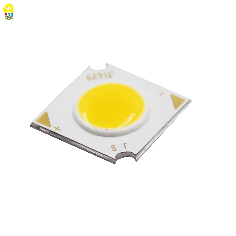 1pcs 5pcs 10pcs 3W 1414-7 14*14mm COB led Light Source CRI Ra 80 LED COB 6V 500mA for spotlight indoor lamp