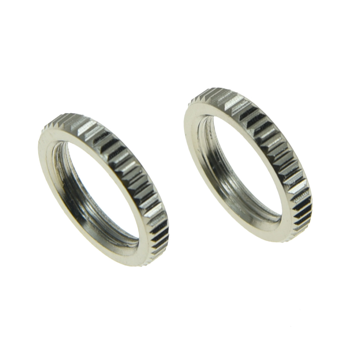 Replacement Knurled Nut for Toggle Switch 10pcs 15//32 Fine Thread