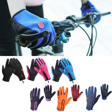 Outdoor Sports Touch Screen Gloves Guantes  Winter Motorcycle Gloves Windstopper Full Finger Ski Gloves Warm Riding Glove