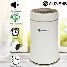 AUGIENB Mulit-function Desktop Air Purifier With Composite Filter 4 modes adjustment Silent Fresh Air For Home/Office Cleaner